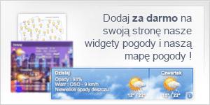Widget pogoda